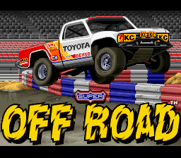 Ironman's Super Off Road for SNES