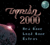 Tyrian 2000 for Game Boy Color